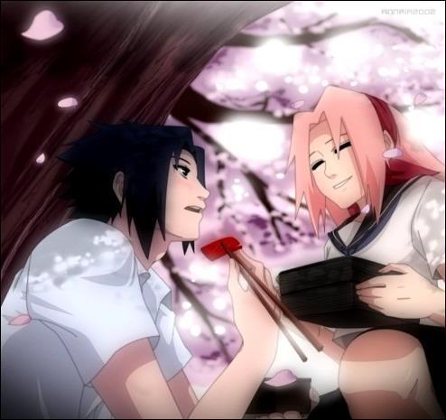 Sasuke karin sakura and