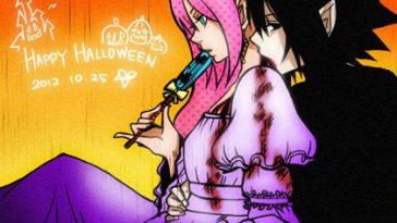 SasuSaku-Halloween