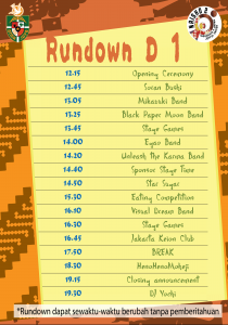 Rundown D 1